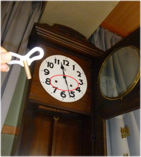 畑寺時計3